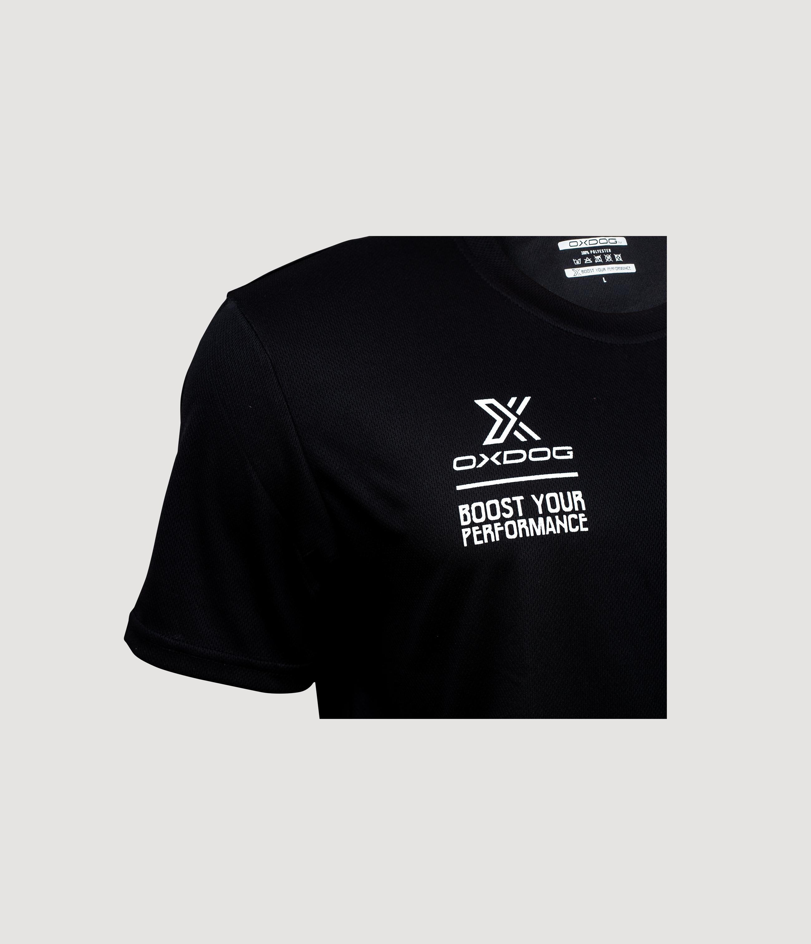 Atlanta II Training Shirt Black Closeup
