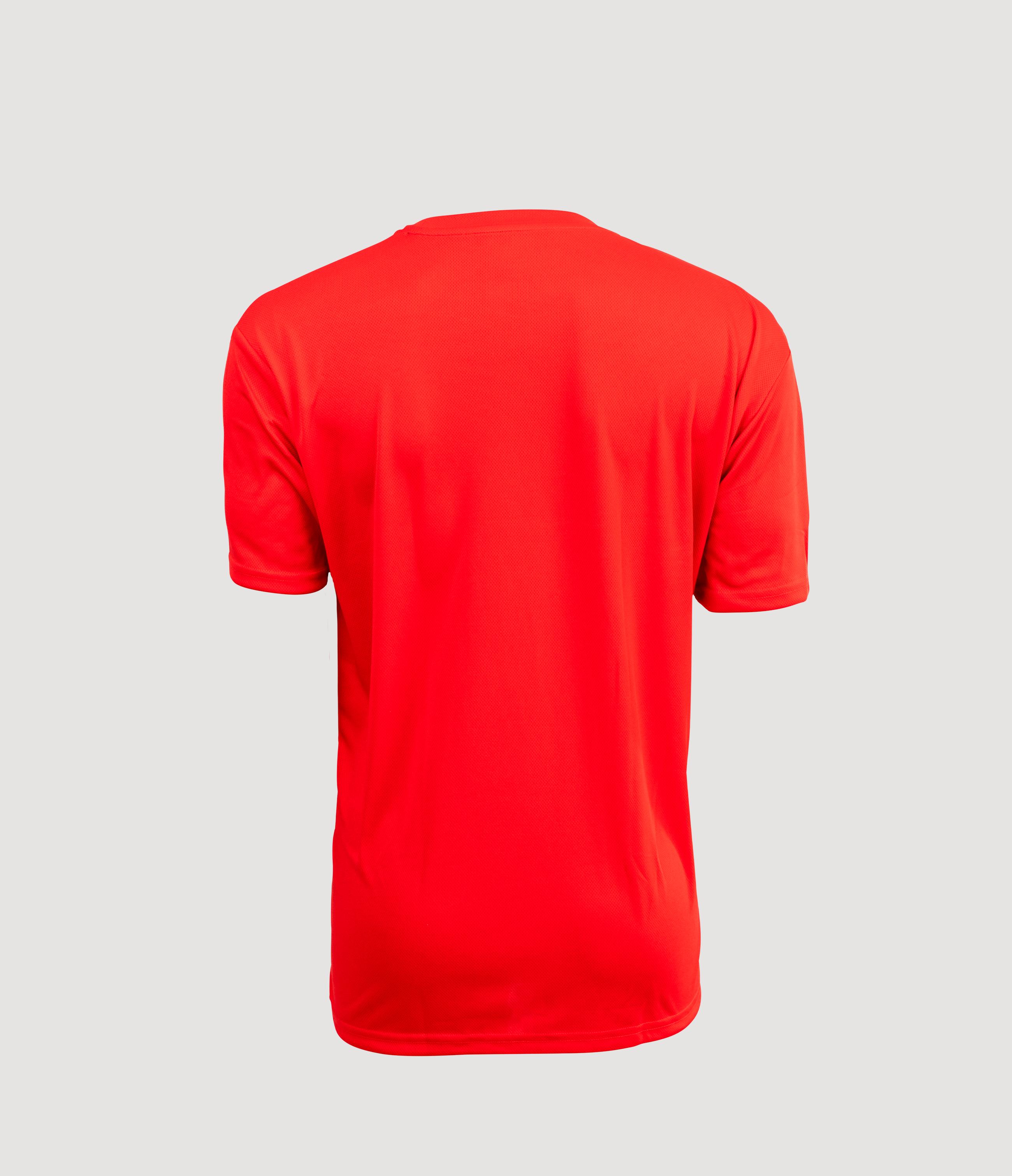 Atlanta II Training Shirt Red Back