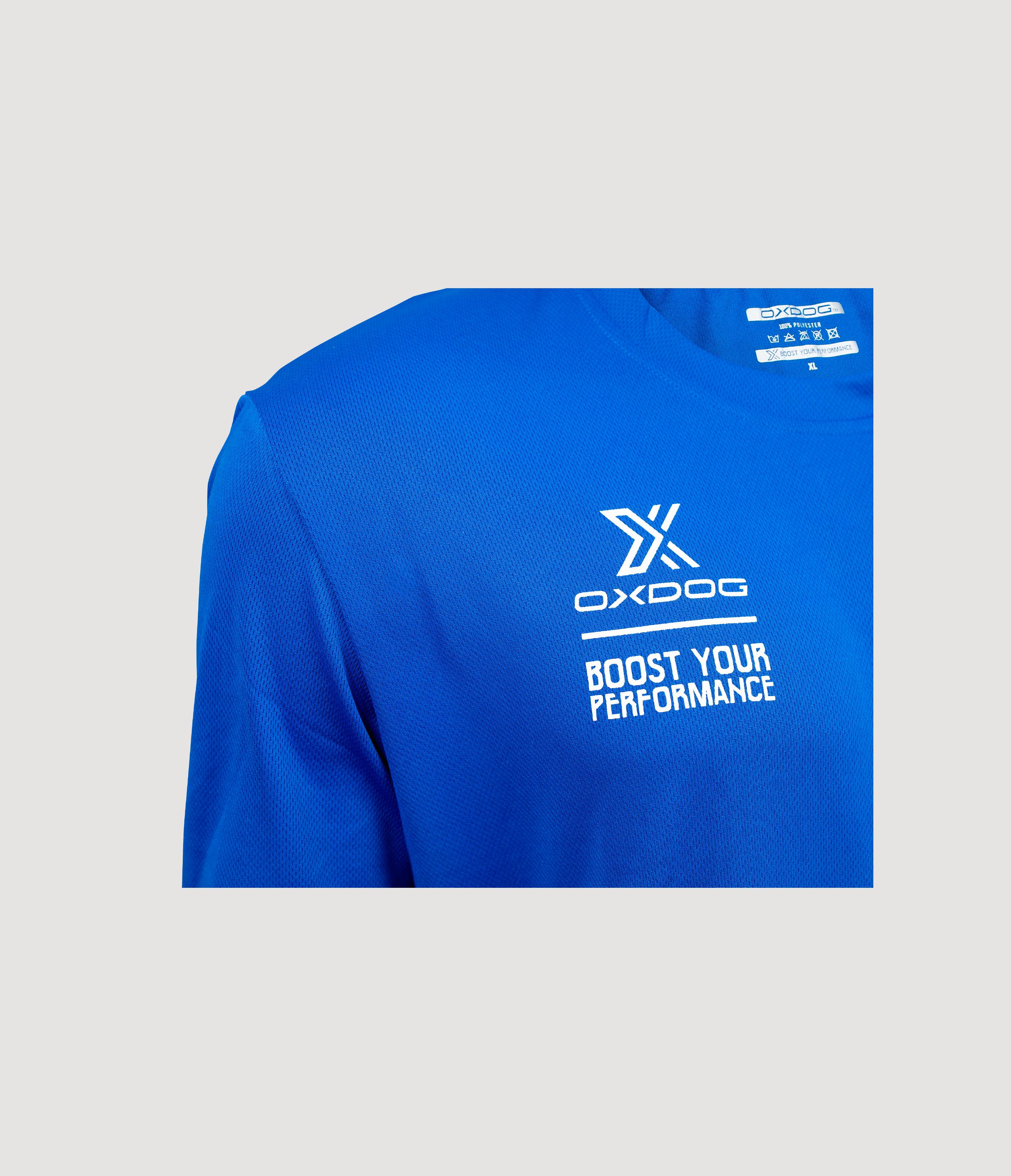 Atlanta II Training Shirt Royal Blue Closeup