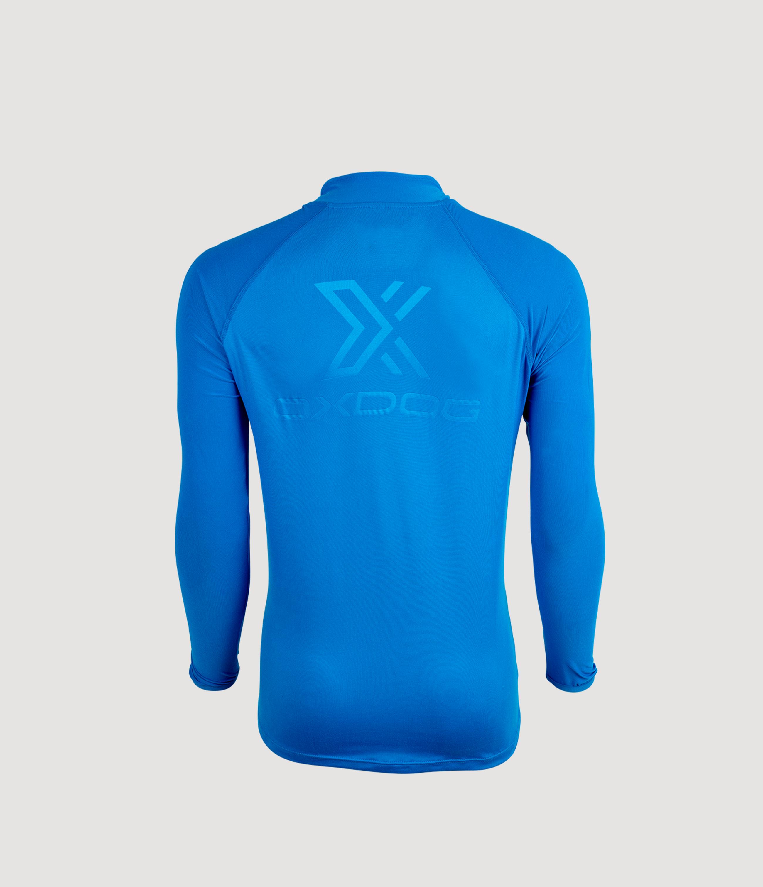 Winton Pro LS WarmUp Royal Blue Back