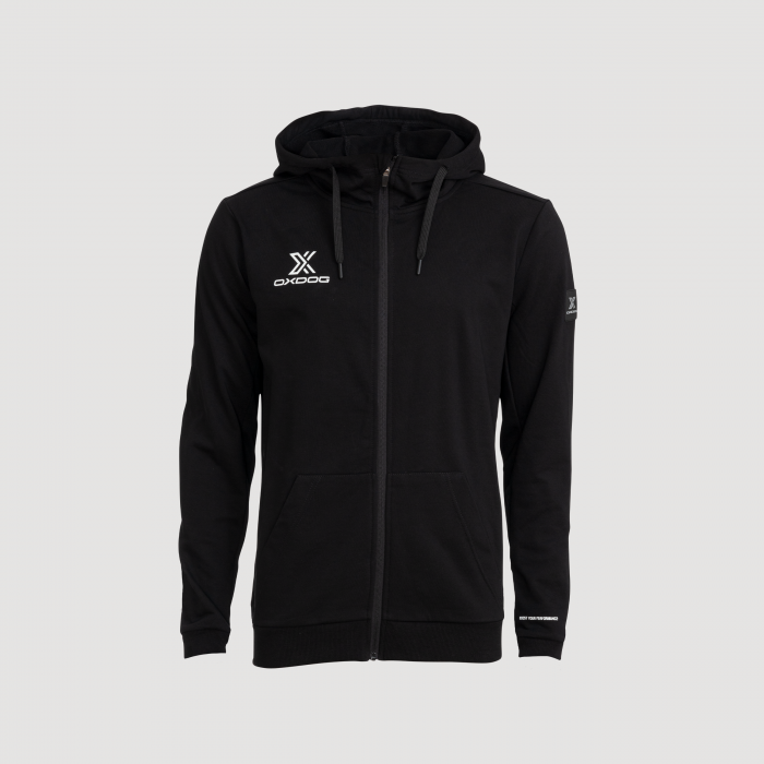 X Hood Black Front
