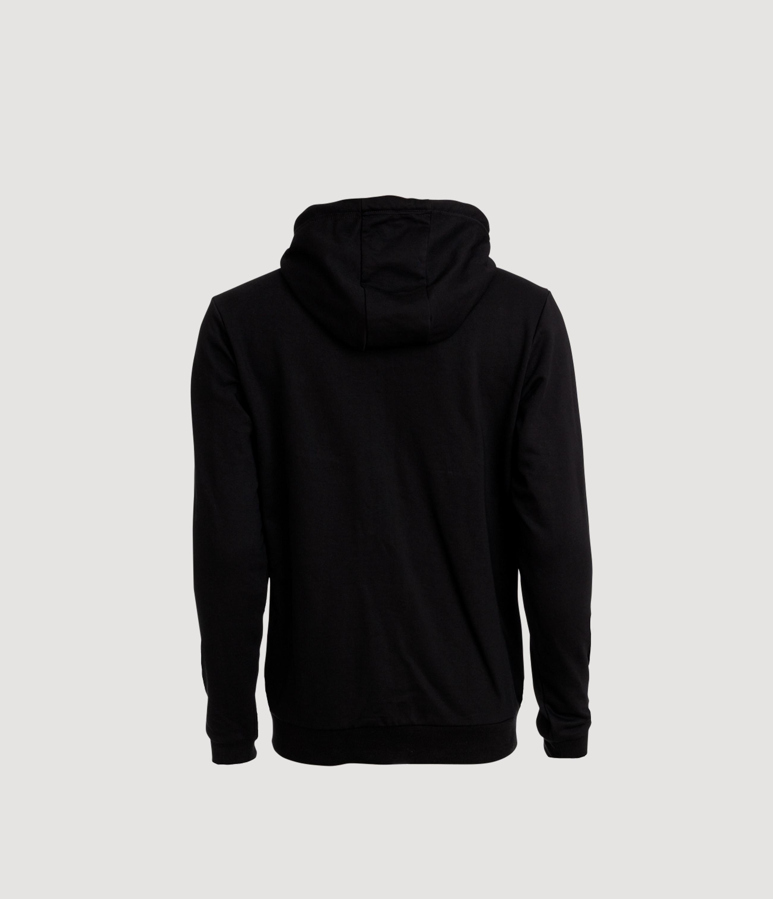 X Hood Black Back